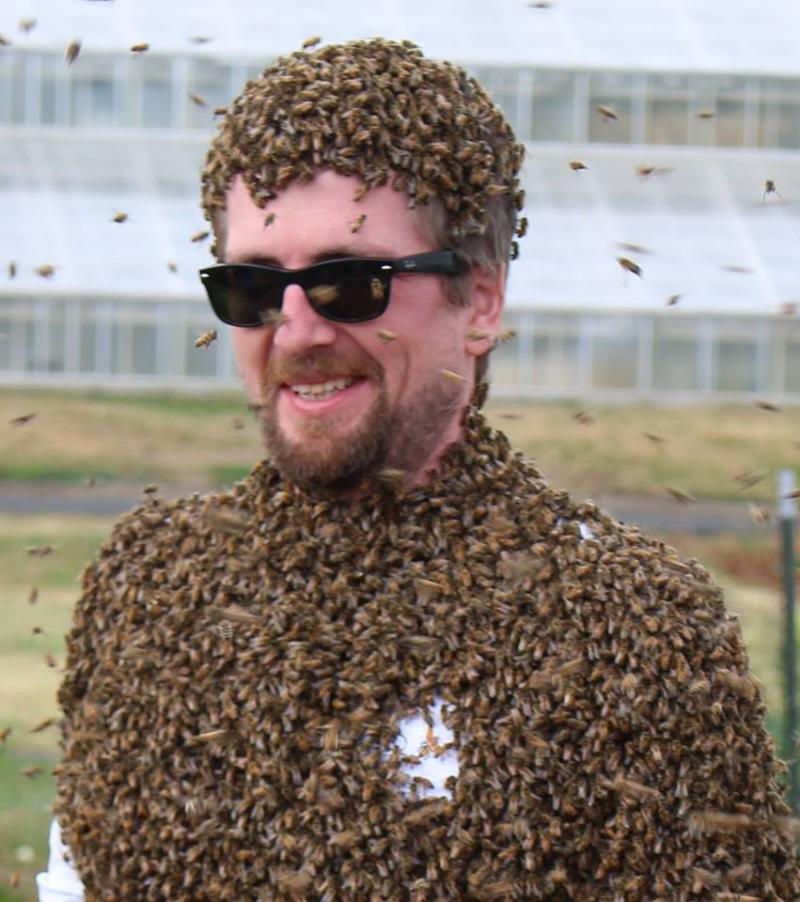 Of Patchiness And Uneven Color Area Man Matthew Cruickshank 34 Told Reporters Monday That He Has Always Had Trouble Growing A Full Beard Bees