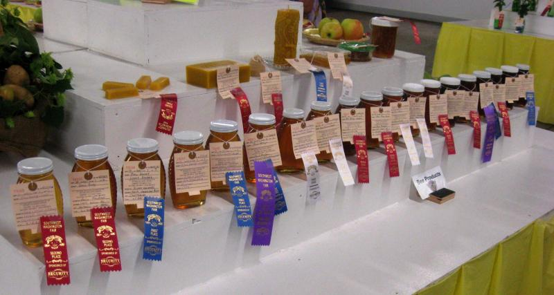 LCBA 2016 Honey Judging at the Southwest Washington Fair