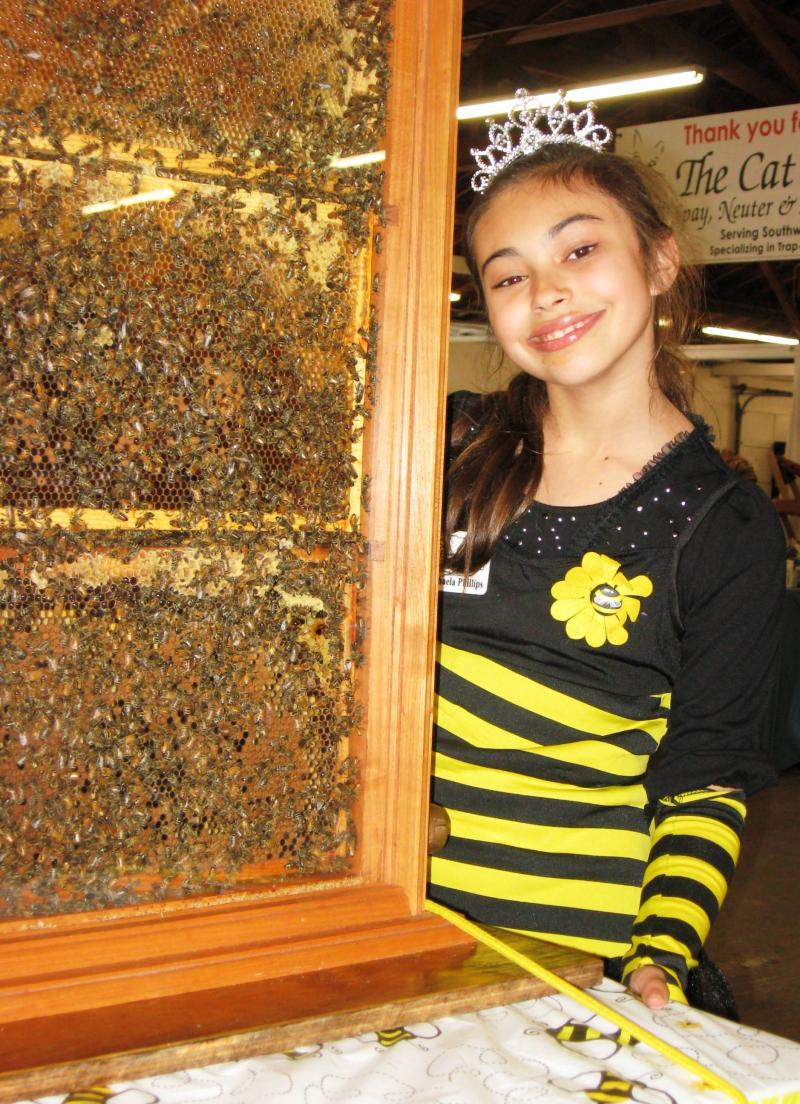 Michaela, our queen bee
