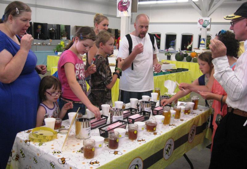 Lewis County Beekeepers People's Choice Honey Tasting