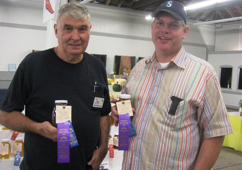 Dan Maughan and Steve Howard tied for Best in Show 2016 Honey