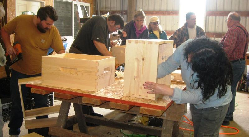 LCBA March 21 2015 Hive Assembly Workshop